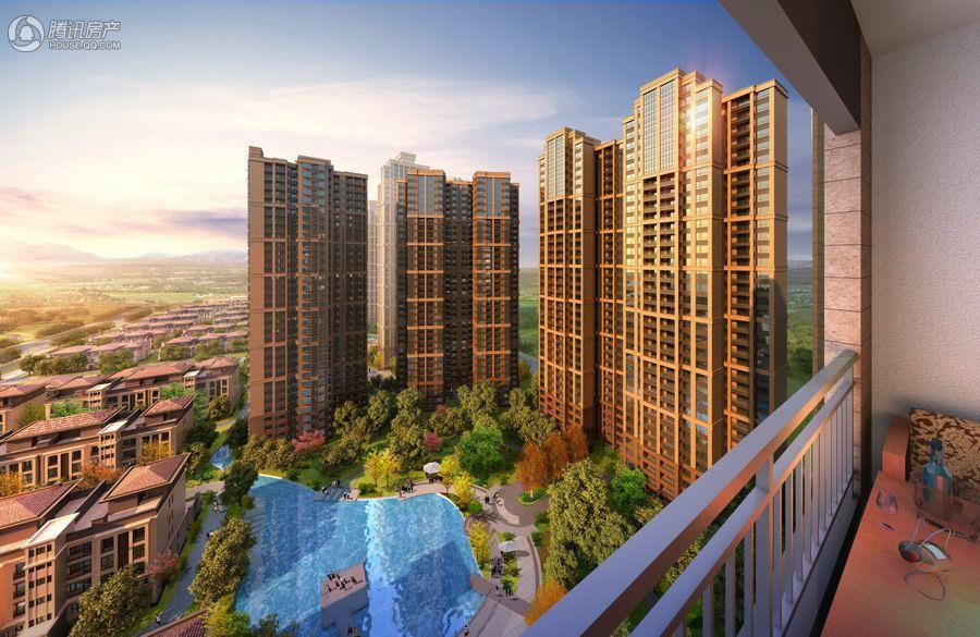 北京城建·龙樾湾效果图