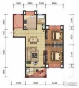 星洲国际2室2厅1卫89平方米户型图