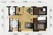 又一城・尚座3室2厅2卫126平方米户型图