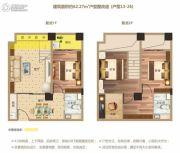 洋湖时代广场0室0厅0卫62平方米户型图