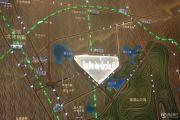 星河WORLD银湖谷交通图