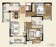 宝能城2室2厅1卫0平方米户型图