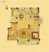中南锦苑4室2厅2卫142平方米户型图