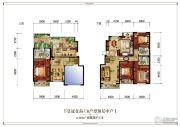 皇冠壹品4室4厅3卫228平方米户型图