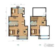 铂铭郡4室2厅2卫139平方米户型图