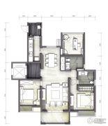 富力十号3室2厅2卫119平方米户型图