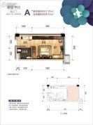 峨眉・时光1室1厅1卫27--39平方米户型图