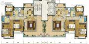 珠光御景山水城3室2厅0卫86平方米户型图