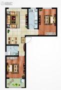 永邦天汇2室2厅1卫85平方米户型图