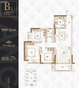 阳光城・尚东湾3室2厅1卫94平方米户型图