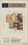 鸿达.金域世家4室2厅2卫150平方米户型图