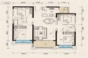 珠江青云台4室2厅2卫129平方米户型图
