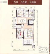 裕通花园3室2厅2卫0平方米户型图