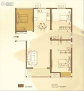 华泰・玉景台3室2厅2卫128平方米户型图