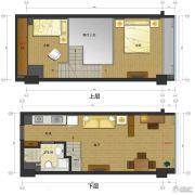 五迪中心3室2厅1卫0平方米户型图
