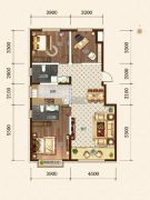 希望依山郡3室2厅2卫117--118平方米户型图