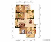 鸥鹏泊雅湾3室2厅2卫103平方米户型图