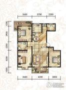 汉府国风3室2厅2卫0平方米户型图