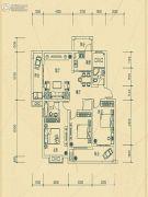 华瑞园3室2厅2卫121平方米户型图