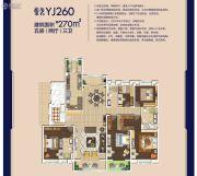 碧桂园・嘉悦城5室2厅3卫270平方米户型图