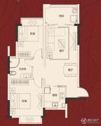 岭南世家・瑞府2室2厅1卫0平方米户型图