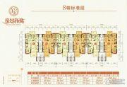 逸景新城3室2厅2卫136平方米户型图