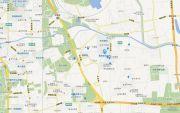 北京奥林匹克花园交通图