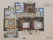 正荣悦岚山3室2厅1卫82平方米户型图