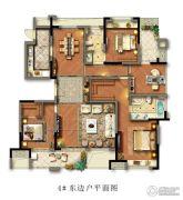 光明檀府4室2厅2卫166平方米户型图