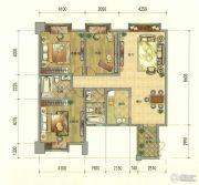 七彩云南第壹城3室2厅2卫137--146平方米户型图