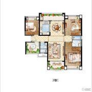 雅居乐・星河湾4室2厅2卫123平方米户型图