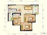 蓝光天娇城3室2厅1卫71平方米户型图