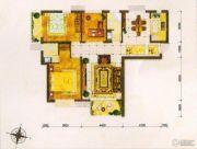 东方夏威夷3室2厅2卫117--119平方米户型图