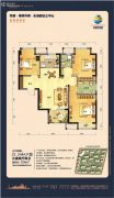荣盛・锦绣外滩3室2厅2卫104平方米户型图