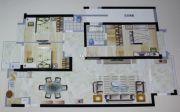 观海居3室2厅2卫154平方米户型图