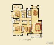 金洋奥澜半岛3室2厅2卫127平方米户型图