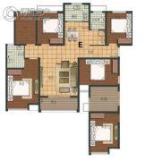 阳光福园2室2厅2卫132平方米户型图