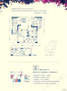 万盛南加州3室2厅2卫130--146平方米户型图