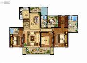 津西新天地4室2厅3卫170平方米户型图