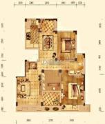 大华锦绣华城3室2厅1卫118平方米户型图