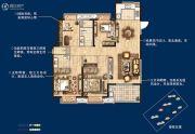无锡孔雀城4室2厅2卫140平方米户型图