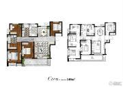 太湖颐景4室2厅2卫140平方米户型图