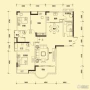 合生上观国际4室2厅2卫0平方米户型图