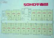 大和高铁一号1室0厅0卫48--50平方米户型图