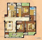 新城・香溢俊园3室2厅2卫133平方米户型图
