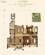 路劲蠡湖院子3室3厅2卫190平方米户型图