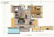 万菱・情侣湾一号4室3厅4卫302平方米户型图