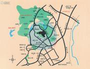 雍翠峰交通图