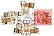 悦盈新城3室2厅2卫121平方米户型图