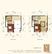 梧州旺城广场3室2厅2卫121平方米户型图